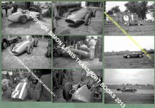 "MASERATI 250F F1 race cars. Set of 9 photos 1954-58 - all 7x5"" (175x125mm)"